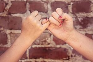 Mädchenfreundschaft