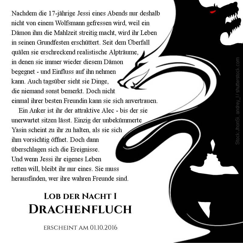Vorbestellbar zum Sonderpreis: Lob der Nacht 1 - Drachenfluch